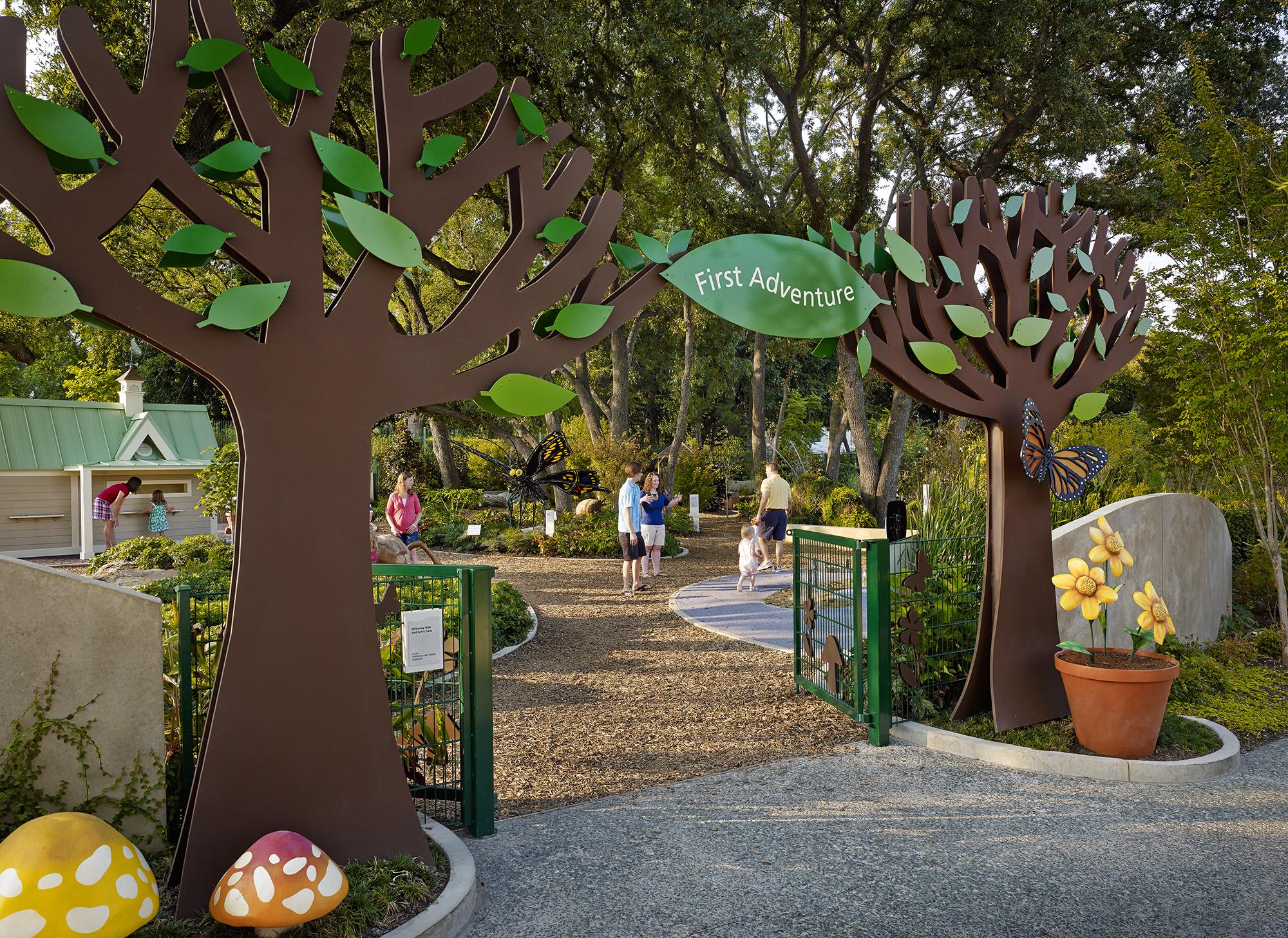 Rory Meyers Children\'s Adventure Garden - The Beck Group