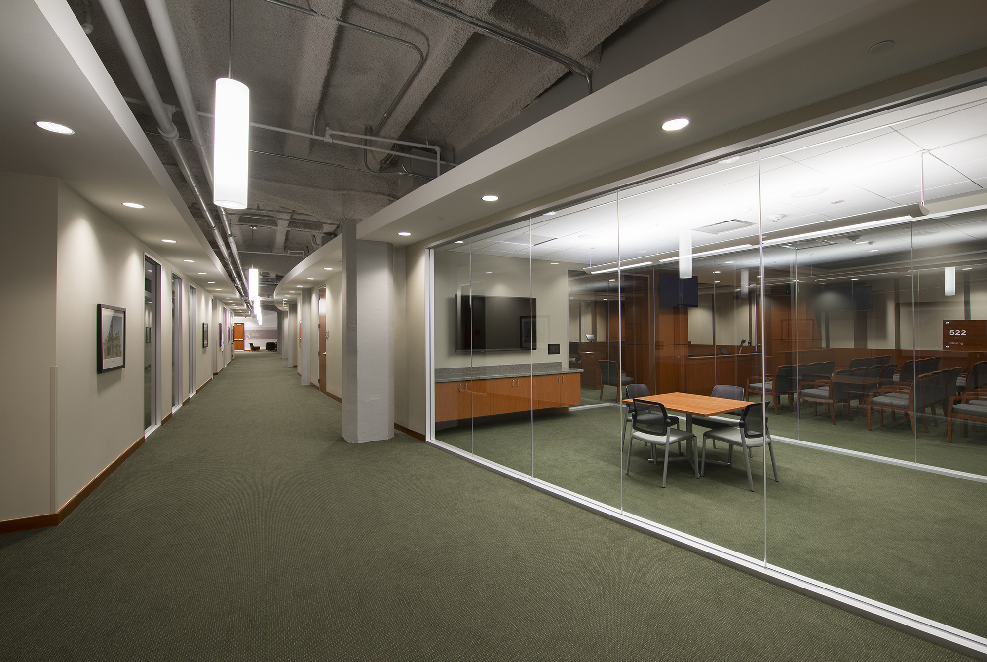 University Of North Texas Dallas College Law Renovation