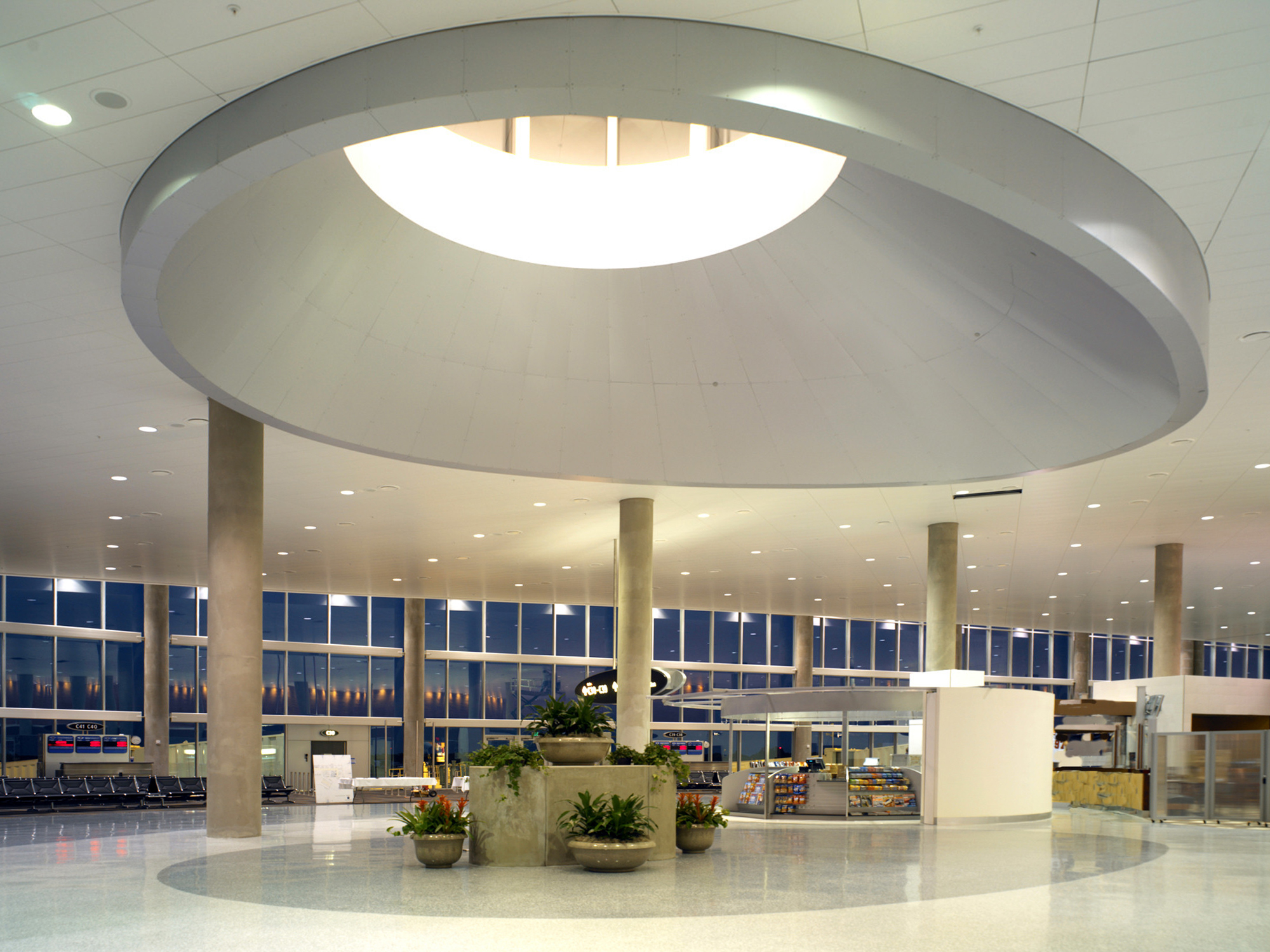 Tampa International Airport Airside C Terminal The Beck