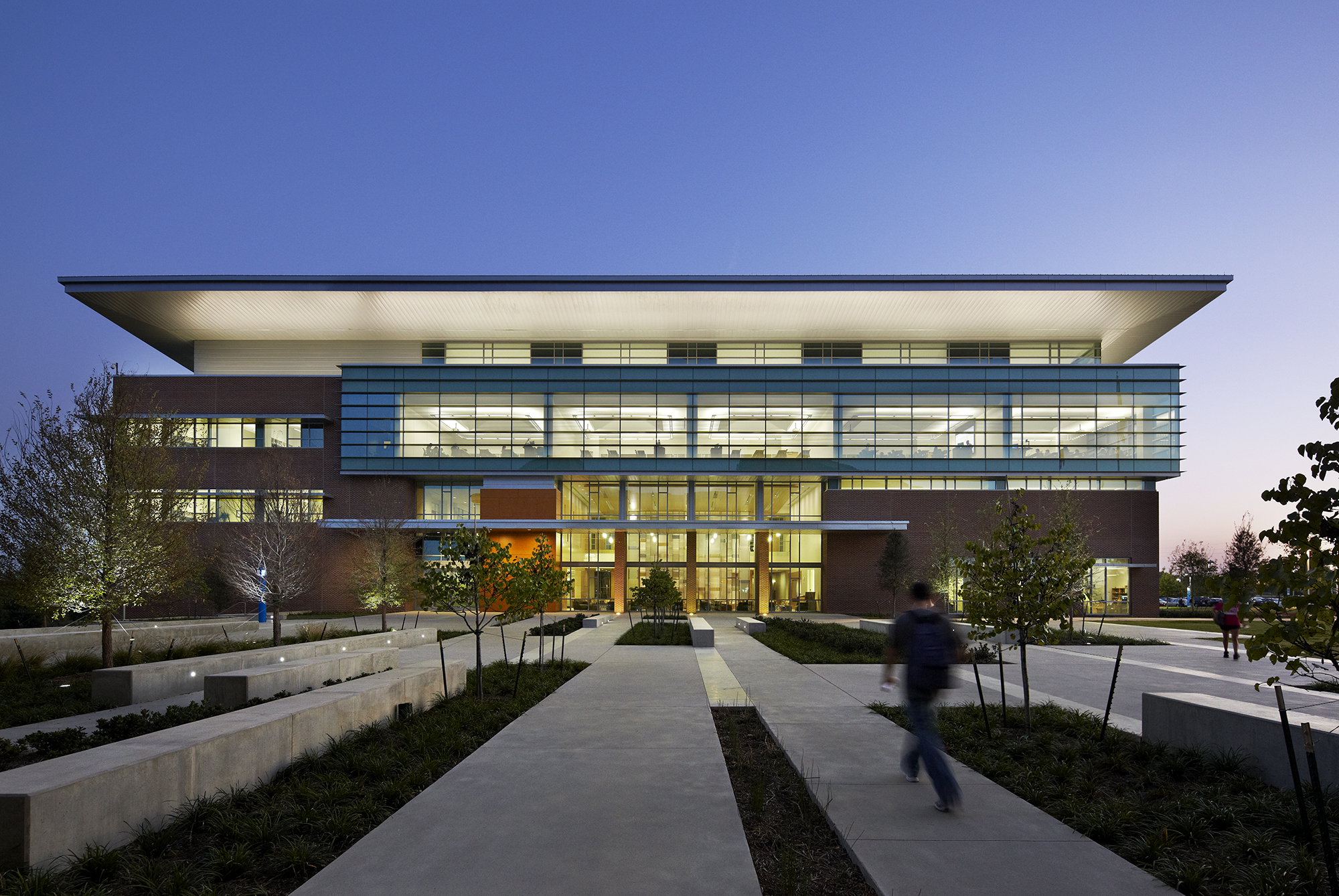 University Of North Texas Dallas Founders Hall The Beck