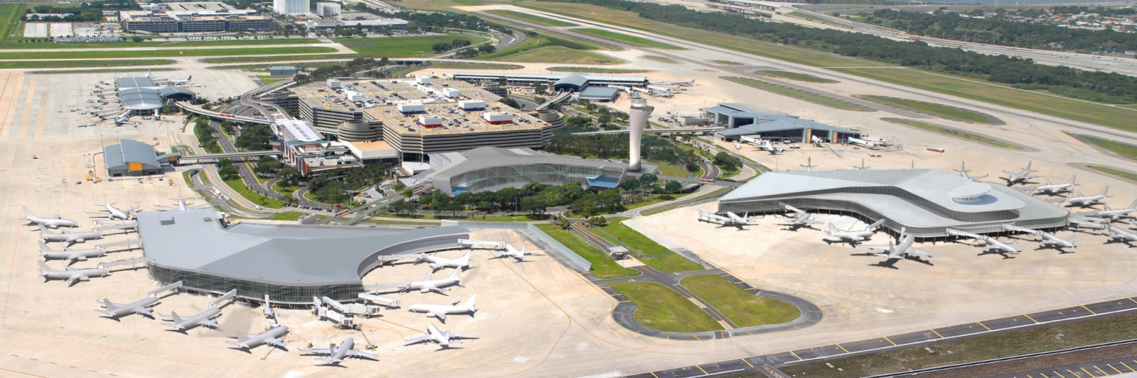 Tampa airport rental car facility and automated people mover the beck group