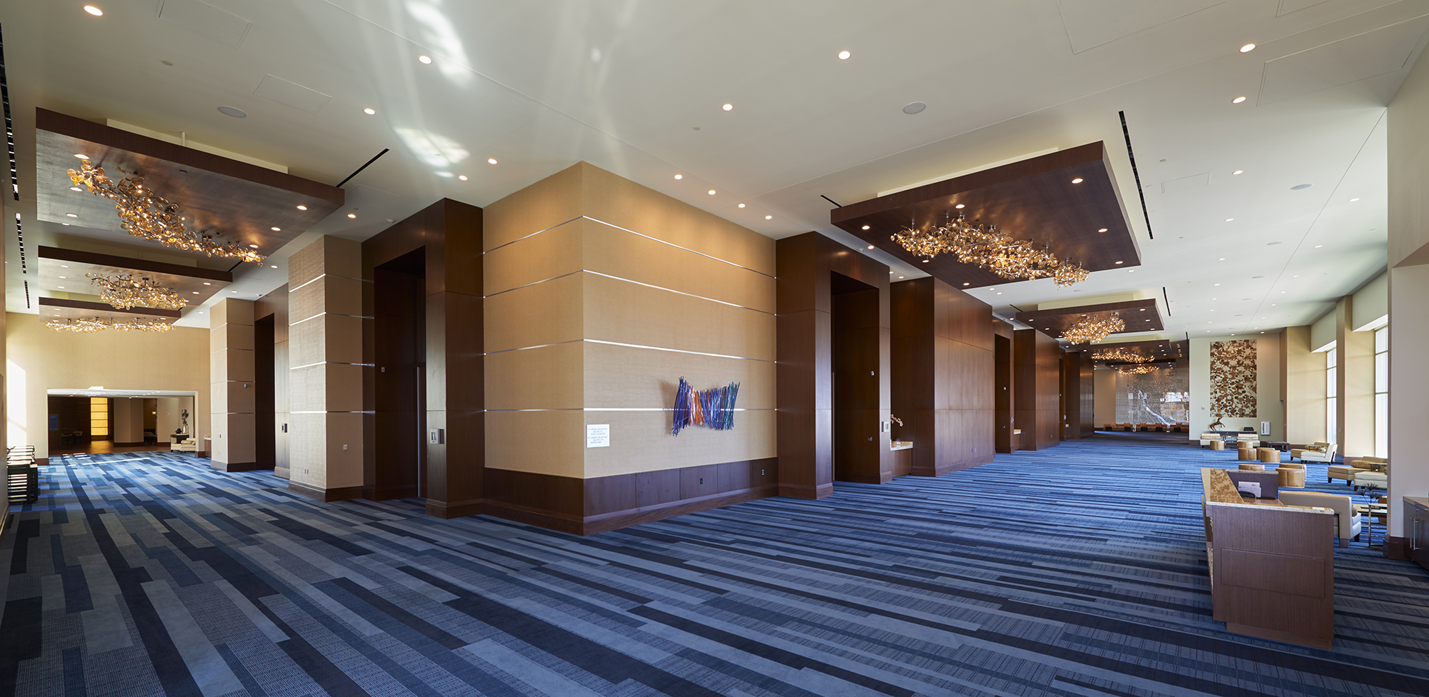 renaissance dallas hotel ballroom addition the beck group