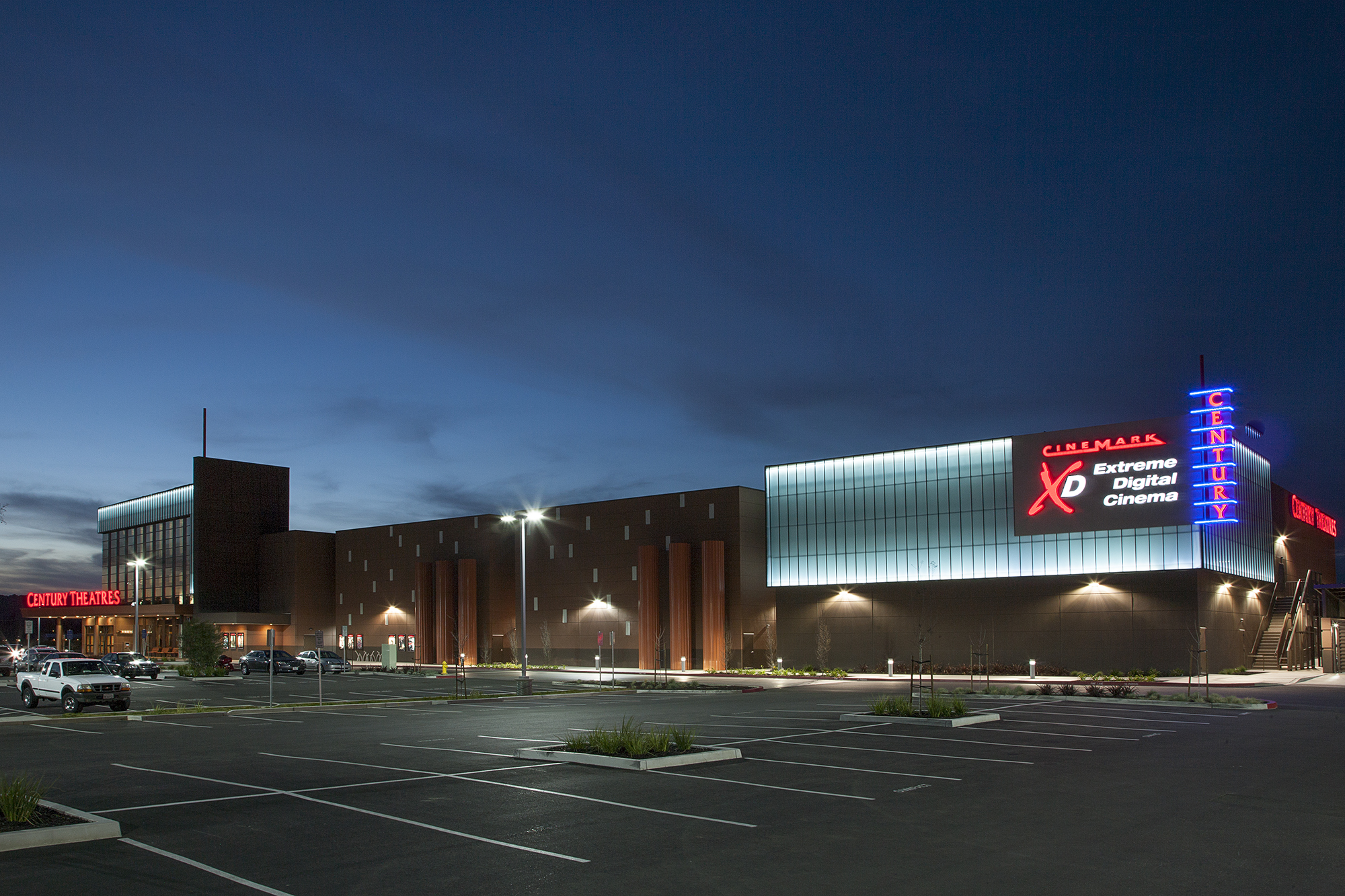 Cinemark Century Napa Valley and XD - The Beck Group