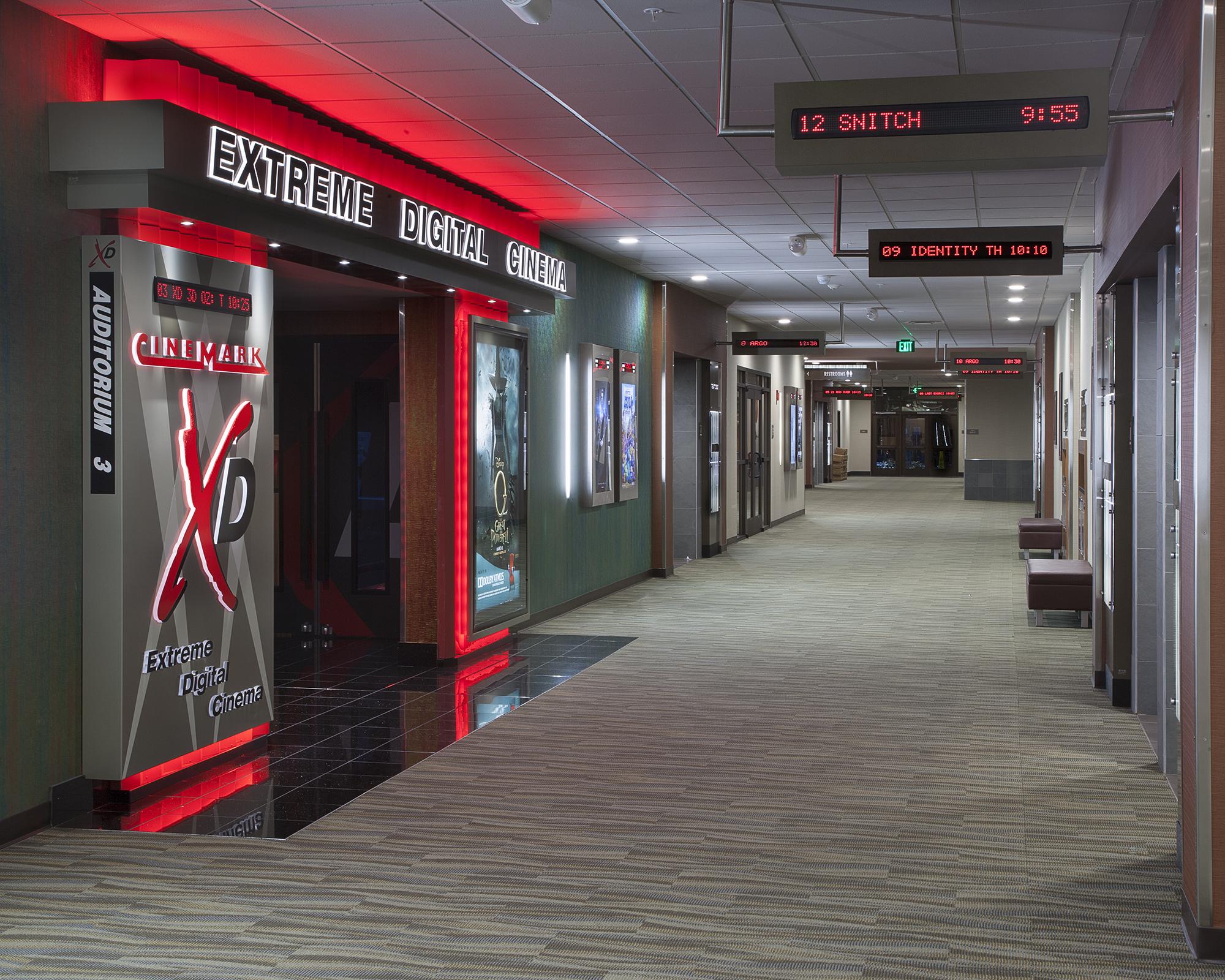 Movie theatre vista