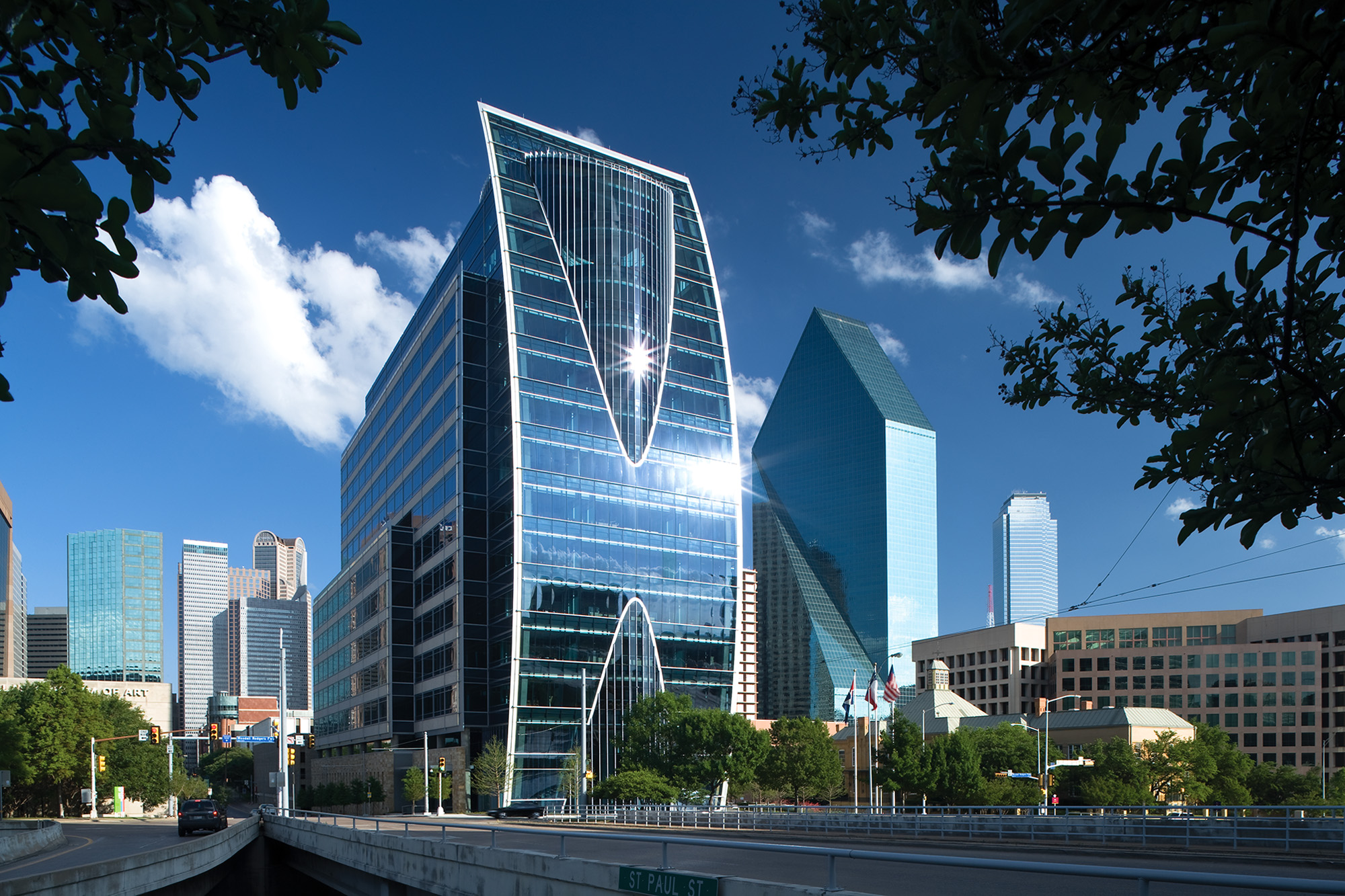 City Of Dallas Careers >> Hunt Oil Company Headquarters - The Beck Group