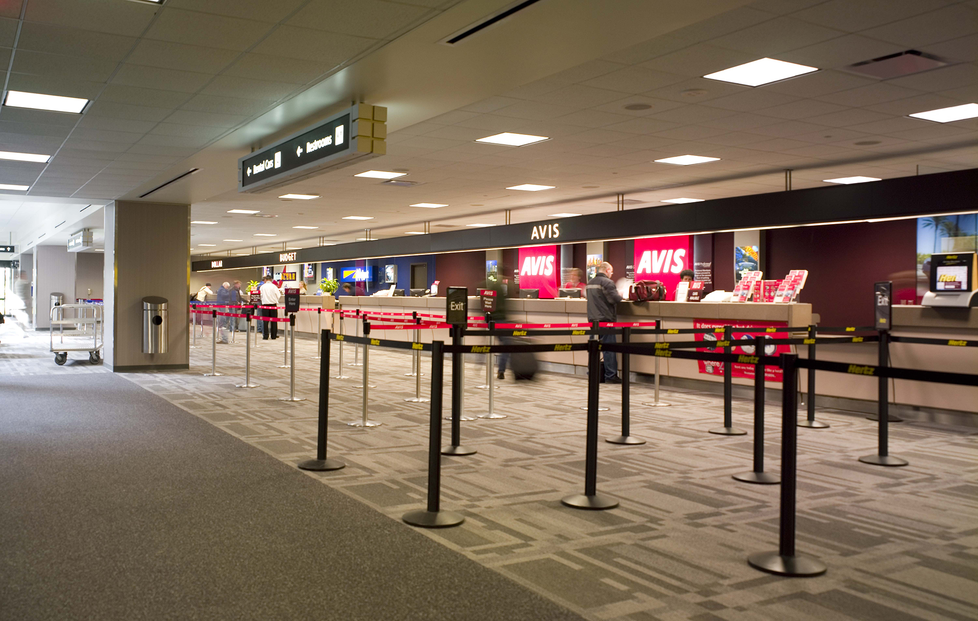 Tampa International Airport Counter Relocation And Rental