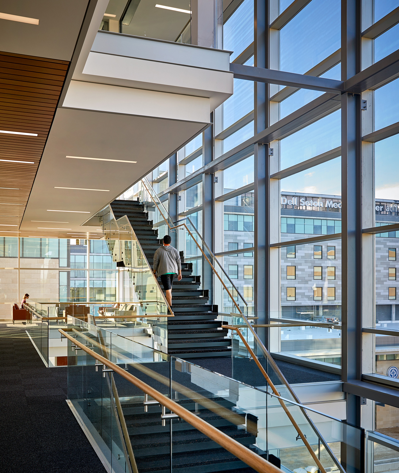 Dell Medical School Health Learning Building at The ...